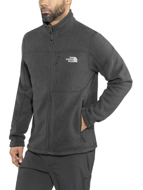 The North Face M's Gordon Lyons Full Zip Fleece Jacket TNF Black Heather